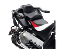 Switchback and Voyager riders can enhance their sleds versatility by installing this Lock & Ride Convertible Passenger Seat that allows them to take a passenger for a ride. Seat installs on Aluminum Cargo Rack that is standard on Adventure.PRODUCT SU