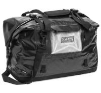 No leaks  no kidding. Easy-to-pack duffle made of heavy-duty polyester laminate with structured molded bottom. The electronically welded seams, roll-down top, storm flaps and snap side buckles keep the water out.