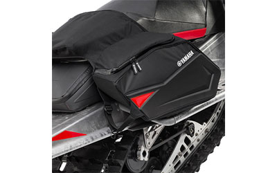 When you need to bring along extra gear for your ride, these saddlebags are essential.Two large bags, one on each side of the seat/tunnelMounts to the tunnel and under the seatDurable, weather resistant 1000 denier nylon800 denier nylon accent materialFits