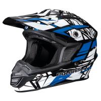 Polaris's affordable Tenacity helmet delivers high style and protection in a wide variety of moto-style designs. The rugged injection-molded thermoplastic shell creates a DOT and ECE safety certified design that weighs just 4.1lbs. A total of 14 intake ven