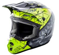 The list of features included with each Kinetic helmet is impressive. Bold original artwork on the exterior compliments a plush interior, generous ventilation, and dual density EPS liner.STANDARD:DOT APPROVEDCONSTRUCTION:Durable and lightweig