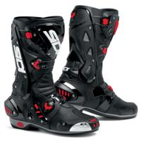 Perforated Lorica sport boot with maximum air flow and replaceable sole.