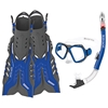 Fiji Mask, Snorkel and Fins Combo Set By Body Glove