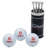 Yamaha Golf Ball And Tee Gift Set