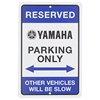 Yamaha Parking Sign
