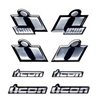 Icon Motosports Icon Chrome Decals