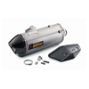 Akrapovic Slip-On Line Silencer with Carbon Exhaust Guard