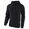 Blackout Embossed Mens Pullover Hoodie
