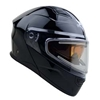 Caldera II Solid Color Modular Snow Helmet With Heated Shield
