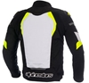 Black/White/Yellow Fluorescent - Back View