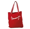 Vespa Red Textile Shopping Bag