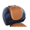 Luxury Real Leather Top Box Backrest