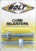 BOLT CHAIN ADJUSTER BOLTS AND NUTS