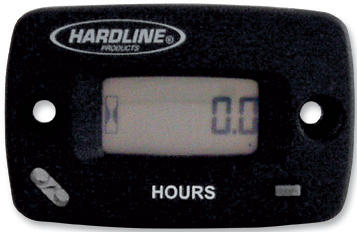 HARDLINE RESETTABLE HOUR METER / TACHOMETER WITH LOG BOOK
