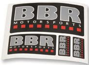 BBR MOTORSPORTS DECAL SHEET