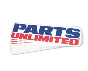 PARTS UNLIMITED DECALS