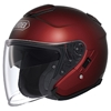 SHOEI J-CRUISE METALLIC SOLID COLOR OPEN-FACE HELMET