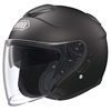 SHOEI J CRUISE MATTE SOLID COLOR OPEN FACE HELMET