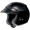 SHOEI RJ PLATINUM-R SOLID COLOR OPEN-FACE HELMET