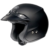 SHOEI RJ PLATINUM-R MATTE SOLID COLOR OPEN-FACE HELMET