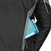 Dual Zipper Entry Lower Back Pocket