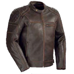 CORTECH DINO VINTAGE LEATHER MENS JACKET
