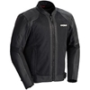 CORTECH PIUMA LEATHER AND TEXTILE MESH SPORT JACKET