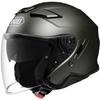 SHOEI J-CRUISE II METALLIC SOLID COLOR OPEN-FACE HELMET