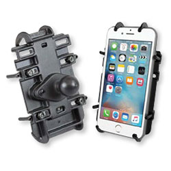 RAM MOUNTS RAM QUICK-GRIP UNIVERSAL PHONE HOLDERS WITH BALL