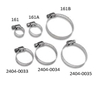 WSM PERFORMANCE PARTS STAINLESS STEEL MINI CLAMPS