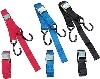 PARTS UNLIMITED 1 INCH HEAVY DUTY CAM BUCKLE TIE DOWNS WITH BUILT IN ASSIST