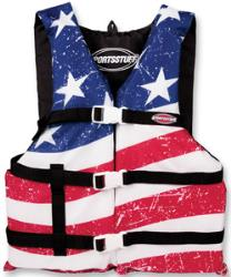 JET LOGIC STARS AND STRIPES LIFE VEST