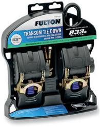 FULTON TRANSOM RETRACTABLE RATCHET TIE-DOWNS