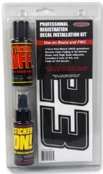 HARDLINE PRODUCTS PROFESSIONAL REGISTRATION DECAL INSTALLATION KIT