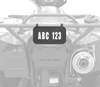 QUADBOSS ATV LICENSE AND REGISTRATION KIT
