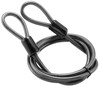 BULLY LOCKS 10MM 7 FOOT STRAIGHT CABLE WITH DOUBLE LOOP