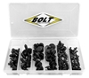 BOLT MOTORCYCLE HARDWARE NYLON RIVET ASSORTMENT
