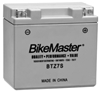 BIKEMASTER HIGH PERFORMANCE MAINTENANCE FREE BATTERIES