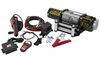 QUADBOSS 5000 LB WINCH WITH WIRE CABLE