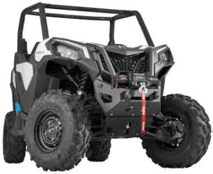 WARN UTV FRONT BUMPERS WITH INTEGRATED WINCH MOUNT