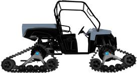 CAMSO 4S1 TRACK SYSTEM FOR UTVS