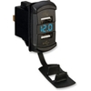 MOOSE UTILITY DIVISION DUAL USB CHARGER WITH VOLTAGE MONITOR