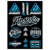 ANSWER RACING STICKER KIT