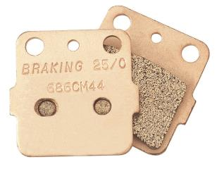 BRAKING SEMI-METALLIC BRAKE PADS