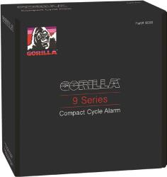 GORILLA 9000 CYCLE ALARM WITH REMOTE TRANSMITTER