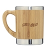 Double Wall Bamboo 11 Oz. Travel Mug