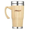 Double Wall Bamboo 15 Oz. Travel Mug