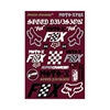 Heritage Track Pack Sticker Sheet