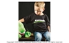 Kawasaki 3 Green Lines Toddler T-Shirt