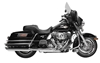 RUSH RACING PRODUCTS 4 INCH BIG LOUIE MUFFLERS FOR DRESSER AND ROAD KING MODELS